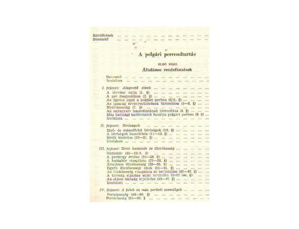 678cbb3a0b A polgári perrendtartás magyarázata - Dr. Szilbereky Jenő (szerk ...