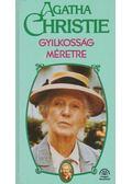 Gyilkosság méretre - Agatha Christie