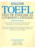 TOEFL – Test of English as a Foreign Language - BABIN, EDITH H. - CORDES, CAROLE V. - NICHOLS, HARRIET H.