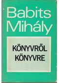 Könyvről könyvre - Babits Mihály
