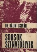 Sorsok szenvedélyek - Bálint István
