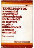 Tanulmányok a romániai együttlakó nemzetiségek történetéből és testvéri együttműködéséről a román nemzettel I. - Bitay Ödön szerk.