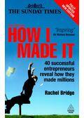 How I Made It - BRIDGE, RACHEL