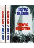 Háborús emlékiratok I-II. - de Gaulle, Charles