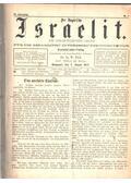 Der ungarische Israelit IV. Jahrgang - W. Bak Dr. Ig.