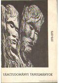 Tánctudományi tanulmányok 1978-1979 - Dienes Gedeon (szerk.), Pesovár Ernő