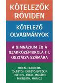 Kötelezők röviden 3. - Dr. Dávid Katalin Zsuzsanna