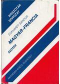 Magyar-francia szótár - Eckhardt Sándor