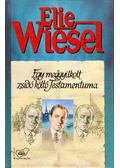 Egy meggyilkolt zsidó költő testamentuma - Elie Wiesel
