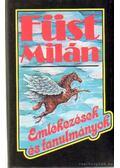 Emlékezések és tanulmányok - Füst Milán