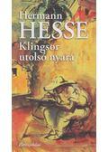 Klingsor utolsó nyara - Hermann Hesse