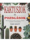 Kaktuszok és pozsgások - Hewitt, Terry