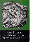 Studia Comitatensia 9. - Régészeti tanulmányok Pest megyéből - Ikvai Nándor