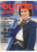 Burda Moden August 1986 (német nyelvű)