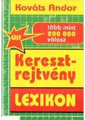 Keresztrejtvény lexikon - Kováts Andor