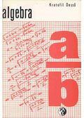Algebra - Kratofil Dezső