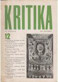Kritika 1969. december VII. évfolyam 12.