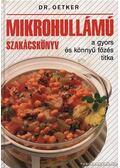Mikrohullámú szakácskönyv