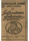 Seiffensteiner Salamon adomái - Molnár Jenő, Bér Dezső, Ágai Adolf