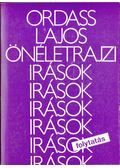 Önéletrajzi írások - folytatás - Ordass Lajos
