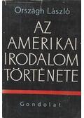 Az amerikai irodalom története - Országh László