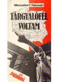 Tárgyalófél voltam - Rakowski, Mieczyslaw F.
