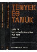 Hitler hatvannyolc tárgyalása 1939-1944 I-II. kötet - Ránki György