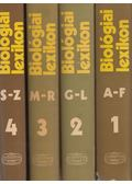 Biológiai lexikon I-IV. kötet - Straub F. Brunó (főszerk.)
