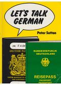 Let's talk German - Sutton, Peter