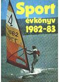 Sport évkönyv 1982-83 - Szabó Béla