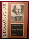 Négy dráma - Shakespeare - William Shakespeare