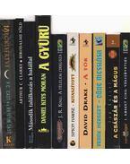 10 db vegyes fantasy, sci-fi - Több szerző