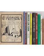 10 db vegyes szakácskönyv - Több szerző