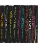 10 db vegyes Tarzan-könyv - Rice Burroughs, Edgar