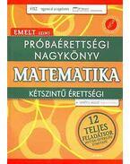 PRÓBAÉRETTSÉGI NAGYKÖNYV - MATEMATIKA - EMELT SZINT - Gerőcs László
