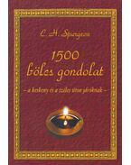 1500 bölcs gondolat - Spurgeon, Charles Heddon