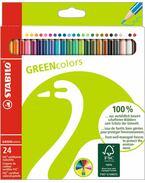 STABILO GREENcolors színesceruza 24 db-os készlet - 6019/2