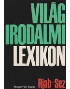 Világirodalmi lexikon XII. kötet Rjab-Sez - Szerdahelyi István