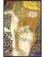 Gustav Klimt képeslap - Wasserschlangen I./Vízikígyók 1904/1907 - Pannónia Nyomda Zrt.