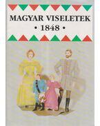Magyar viseletek 1848 - Ék Erzsébet