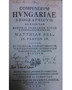 Compendium Hungariae geographicum; Compendiolum regnorum Slavoniae, Croatiae, Dalmatiae Transilvaniae geographicum - Matthiae Bel