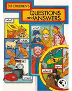 315 Children's Questions and Answers - Lesley Scott, Brenda Apsley