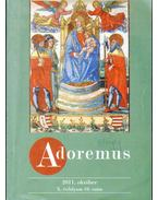Adoremus 2011. október X. évf. 10. szám - --