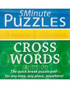 5 Minute Puzzles - Cross Words