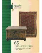 Nagyházi Galéria és Aukciósház 65. műtárgyárverés