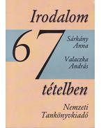 Irodalom 67 tételben - Valaczka András, Sárkány Anna