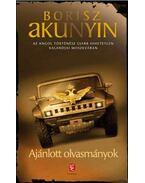 Ajánlott olvasmányok - Borisz Akunyin