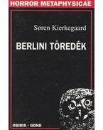 Berlini töredék - Kierkegaard, Sören