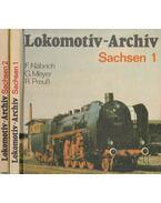 Lokomotiv-Archiv Sachsen 1-2. - Fritz Näbrich, Günter Meyer, Reiner Preuß