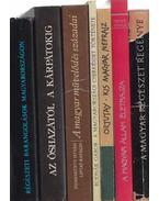 7 db magyar témájú könyv